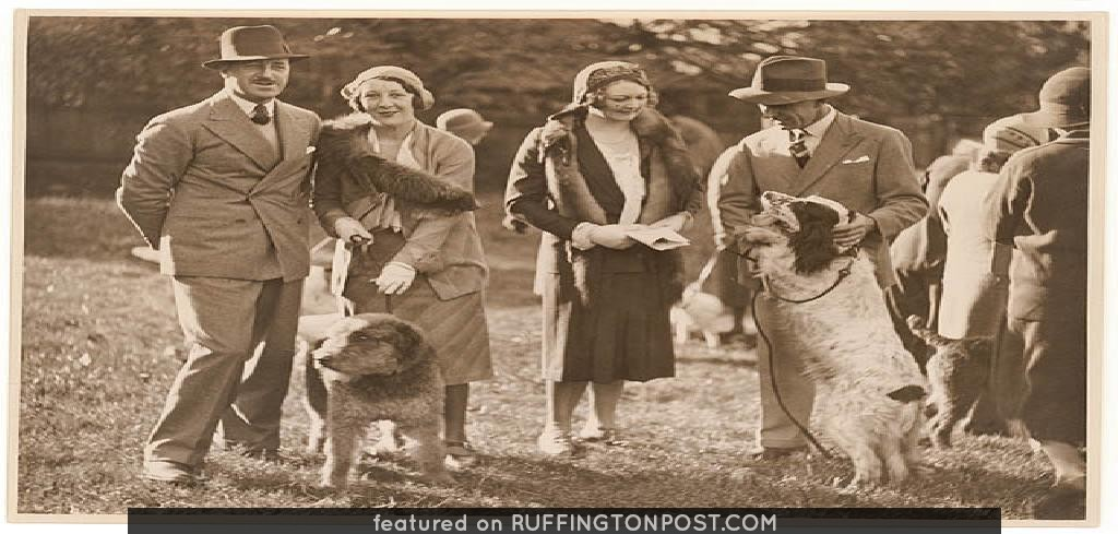 The rich with their dogs, ca. 1925-ca. 1945 / by Sam Hood