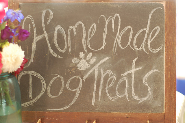 Bacon and Peanut Butter, Homemade Dog Treats