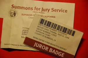 It's Jury Summons for This German Shepherd!