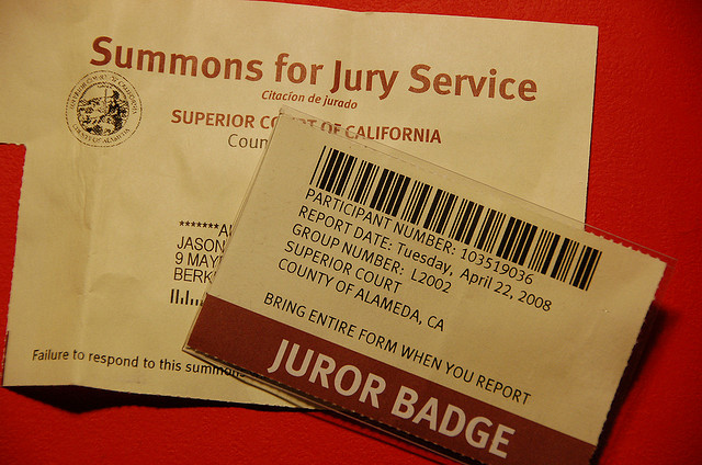 It's Jury Summons for This German Shepherd!